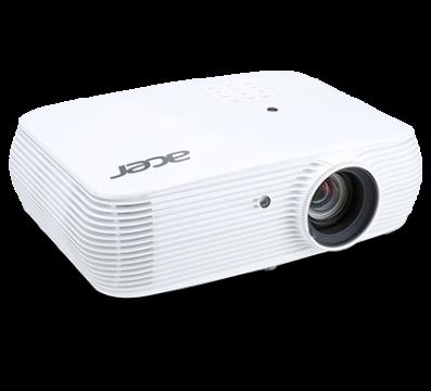 PJ Acer P5530, DLP 3D, Native 1080p(1920 x 1080); Contrast:20000:1, Brightnes: 4 000 lumens, HDMI/MHL(Video, Audio, HDCP)x1  HDMI (Video, Audio,HDCP)x1; Composite Video (RCA)x1; RS 232x1; S-Video; USB(Type A)x1, Eth. port (RJ45)x1, 16W speakers; Bag, 2.7k