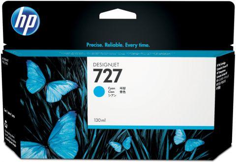 Консуматив HP 727 Standard Original Ink Cartridge; Cyan;  ; HP DesignJet T920, T930, T1500, T1530, T2500, T2530
