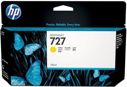 Консуматив HP 727 Standard Original Ink Cartridge; Yellow;  ; HP DesignJet T920, T930, T1500, T1530, T2500, T2530