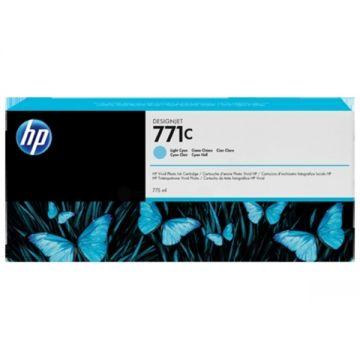 Консуматив HP 771C 1-pack Original Ink Cartridge; Light Cyan;  ; HP DesignJet Z6200