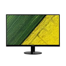 "Monitor Acer SA240Ybid, (IPS), 23.8"" (60cm), Format: 16:9, Resolution: Full HD (1920x1080), Non glare IPS, ZeroFrame, Response time: 4 ms (G to G), Contrast: 100M:1, Brightness: 250 cd/m2, Viewing Angle: 178°/178°, VGA, HDMI, DVI, Acer Adaptive Contrast M"
