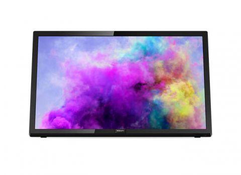 """Philips 22"""" LED TV, Full HD, 200 PPI PMR, Pixel Plus, DVB-T2/C/S3"""