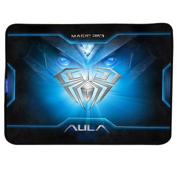 Пад за геймърска мишка AULA MAGIC Pad Gaming Mouse Pad, Reflective surface for higher speed, for optical or laser sensors, 400 x 320 x 3 mm
