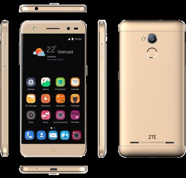 "Smartphone ZTE Blade V7 Lite 2 LTE Dual SIM 5.0"" IPS HD (1280 x 720) / Cortex-A53 Quad-Core 1.0GHz / 16GB Memory / 2GB RAM / Camera 13.0 MP+Flash & AF/5MP / Bluetooth 4.0 / WiFi 802.11 b/g/n / GPS / Battery Li-Ion 2500 mAh / Android 6.0 / Gold"