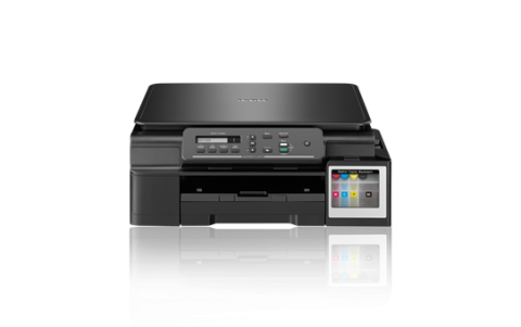 Inkjet Multifunctional BROTHER DCPT300, Ink Tank System, Printer 11/6ipm, Super high yield ink tanks up to 6000black/5000 colour prints, Hi-Speed USB 2.0, 1-line LCD display