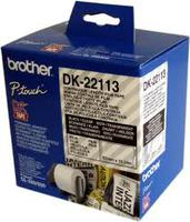 Paper BROTHER  Tape Film Clear Film tape 62mm x 15.24m for QL-5xx