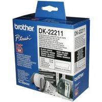 Paper Tape BROTHER Film White tape 29mm for QL-5xx