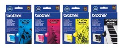 Yellow ink cartridge BROTHER (325 A4 pages at 5% coverage), DCP385C/ DCP585CW / DCP6690CW / MFC6490CW / MFC290C / MFC490CW / MFC790CW