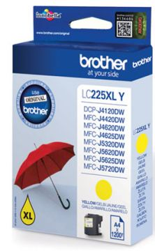 Yellow Ink Cartridge BROTHER for MFC-J4420DW / MFC-J4620DW / MFC-J4625DW / MFC-J5320DW / MFC-J5620DW / MFC-J5625DW / MFC-J5720DW / DCP-J4120DW