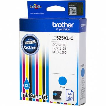 Cyan Ink Cartridge BROTHER for DCPJ100 / DCPJ105 (1300 pages)/ J200