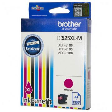 Magenta Ink Cartridge BROTHER for DCPJ100 / DCPJ105 (1300 pages)