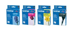 Yellow Ink Catridge BROTHER (350 A4 pages at 5% coverage), DCP135C, DCP150C, MFC235C, MFC260C