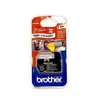 Tape BROTHER Black on White Tape 12mm