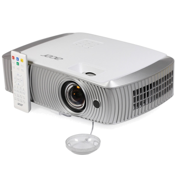 PJ Acer H7550ST DLP® 3D Ready, Short Throw, Full HD 1080p (Data), Brightnes: 3000 lumens, Contrast: 16'000:1, Short Throw, HDMI, HDMI/MHL, BT, 2D to 3D Conversion, CB 3D, ExtremeECO, Zoom, AutoKeystone, Audio, 20W, 2x 3D glasses, Bag, 3.4 Kg