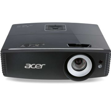 "Projector Acer P6200S ShortT DLP 3D, Resolution: XGA (1024x768), Brightnes: 5000Lm, Contrast: 20 000:1, Projection Distance (1.0m ~ 8.6m), Projection Screen Size (Diagonal) (26"" ~ 300""), HDMI, RJ45,V Lens shift, Bag, 4.5Kg, EURO/UK Power EMEA, Bag, Remote"