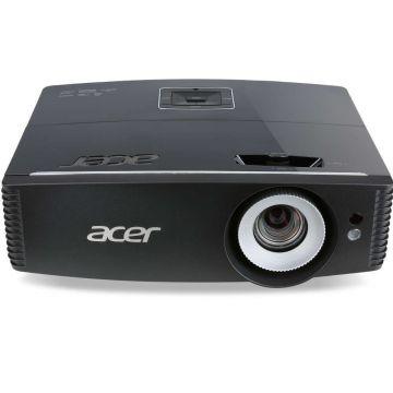 "Projector Acer P6200S ShortT DLP 3D, Resolution: XGA (1024x768), Brightnes: 5000Lm, Contrast: 20 000:1, Projection Distance (1.0m ~ 8.6m), Projection Screen Size (Diagonal) (26"" ~ 300""), HDMI, RJ45,V Lens shift, Bag, 4.5Kg, EURO/UK Power EMEA, Bag, Remote"