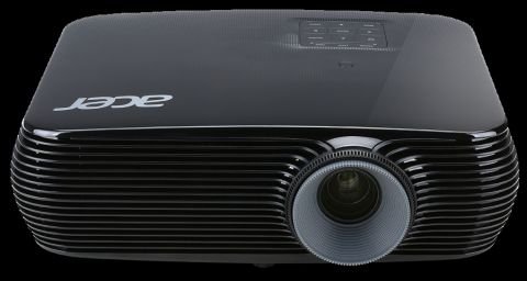 Projector Acer X1226H, DLP® 3D Ready, HDMI 3D, Resolution: XGA (1024x768), Format: 4:3, Contrast: 20 000:1, Brightness: 4 000 lumens, Input: HDMI®, HDMI/MHL,  D-sub, RCA, S-video, Acer ColorBoost II+, Acer ColorSafe II, Acer EcoProjection, ExtremeEco lamp