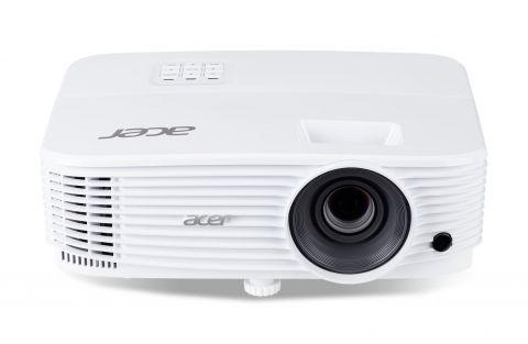 PJ Acer P1350WB DLP® 3D ready, Resolution: WXGA(1280x800), Format: 16:10, Contrast: 20 000:1, Brightness: 3 700 lumens, Input: 2xHDMI®, 1xHDMI®MHL, Analog VGA 1xIn 1xOut, Composite Video (RCA) x 1, USB(A)x1, USB (Mini-B)x1, RJ-45, Acer ColorSafe II, Acer