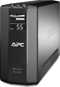 Back-UPS Pro 550VA LCD Master Control AVR