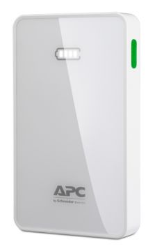 APC Mobile Power Pack, 5000mAh Li-polymer, White