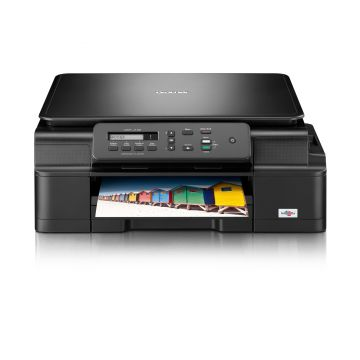 Inkjet Multifunctional BROTHER DCPJ100, Print, Sopy, Scan,  up to 11 mono/6 colour ipm, High-yield catridge 2400mono/1300colour, Integrated flatbed scanner, Borderless Print A4/LTR/A6/Photo 10x15/Index Card/Photo-2L