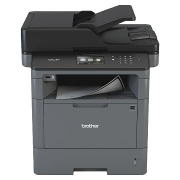Laser Multifunctional BROTHER DCPL5500DN, Printer & copier 40 ppm, 1200x1200dpi, 9.3cm colour touchscreen, Built-in Networking, Brother Solutions&Apps, Mobile Printing&Scanning, Cloud Services