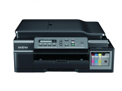 Inkjet Multifunctional BROTHER DCPT700W, Ink Tank System, Wireless, Brother iPrint&Scan, ADF, Printer 11/6ipm, Super high yield ink tanks up to 6000black/5000 colour prints