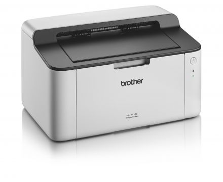 Laser Printer BROTHER HL1110E, Compact design, 20 ppm, 2400x600dpi, Full-speed USB 2.0 interface , GDI, 150 paper input tray
