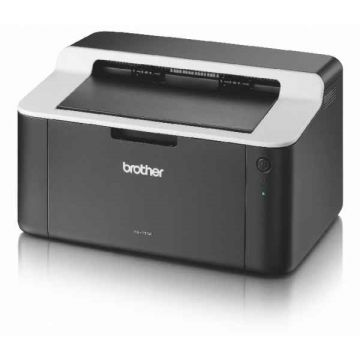 Laser Printer BROTHER HL1112E, Compact design, 20 ppm, 2400x600dpi, Full-speed USB 2.0 interface,GDI, 150 paper input tray