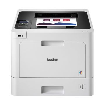 Color Laser Printer BROTHER HLL8260CDW, Wireless Colour Laser Printer, 31 ppm, Max paper input 1050 sheets, Built-in Ethernet 10Base-T/100Base-TX/1000Base-T, High Yield Toner, Brother´s iPrint&Scan, Plugin - Android, Google Cloud, Mopria, Airprint