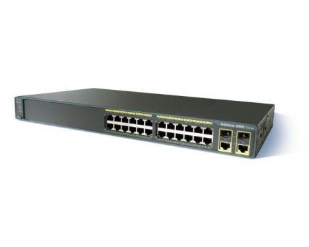 Catalyst 2960 Plus 24 10/100 + 2T/SFP LAN Base
