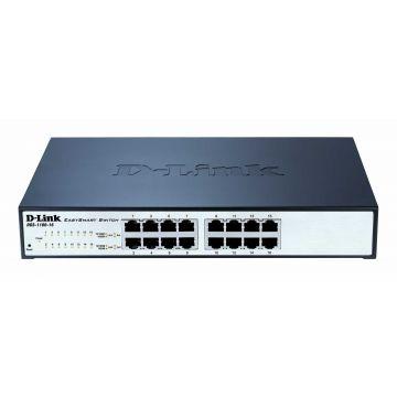 Суич D-Link DGS-1100-16 Смарт 16-Port Gigabit EasySmart Switch комутатор гигабитов