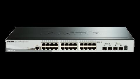 24-port GigE + 2-port 10G SmartPro Switch