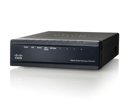 Рутер CISCO RV042G-K9-EU Gigabit Dual WAN VPN Router