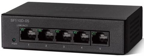 SF110D-05 5-Port 10/100 Desktop Switch