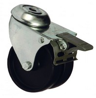 Lockable high-load castor for free-standing rack, 1 pcs