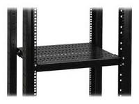 "19"" shelf, depth 650 mm - Fixed, height 1U, high load"