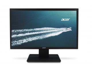 "Monitor Acer V246HLbid, TN+Film, 24"" (61 cm), Format: 16:9, Resolution: Full HD (1920х1080), Response time: 5 ms, Contrast: 100M:1, Brightness: 250 cd/m2, Viewing Angle: 170°/160°, VGA + DVI (w/HDCP) + HDMI, Energy Star 6.0, Acer ComfyView, Acer EcoDispla"