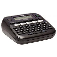 P-Touch Labelling System BROTHER PTD210VP, Desktop, QWERTY keyboard, TZ tapes 3.5 to 12 mm, 0mm/s print speed, Graphic Display, Template library, Flat keyboards,1TZE231(4m), Adapter AC, Carry Case