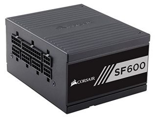 Захранване Corsair High Performance SFX SF600, Modular Power Supply, Fully Modular 80 Plus Gold, EU Version