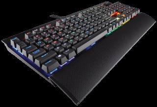 Клавиатура Corsair Gaming™ K70 LUX RGB Mechanical Keyboard, Backlit RGB LED, Cherry MX Brown  (US)