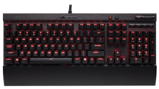Клавиатура Corsair Gaming™ K70 LUX Mechanical Gaming Keyboard - Red LED -Cherry MX Red) (US)