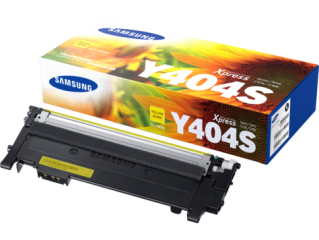 Консуматив Samsung CLT-Y404S Yellow Toner Cartridge (up to 1 000 A4 Pages at 5% coverage)* SL-C430 C430W C480 C480W C480FN C480FW