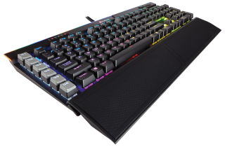 Клавиатура Corsair Gaming™ K95 RGB PLATINUM Mechanical Keyboard, Backlit RGB LED, Cherry MX Speed, Black  (US)