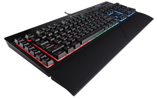 Клавиатура Corsair Gaming™ K55 RGB Keyboard, Backlit RGB LED, 6 Marco Keys (US)