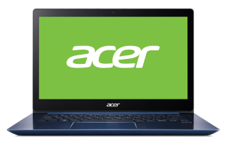 "WEEKLY PROMO! NB Acer Swift 3 SF314-52-311U/14.0"" IPS Full HD 1920x1080 Corning® Gorilla® Glas /Intel® Core™ i3-7130U/1x4GB/256GB PCI-E SSD/ Intel HD Graphics 620/ Keyboard backlight/Finger Print/Windows 10/Мetallic body (Anodizing) Stellar Blue"