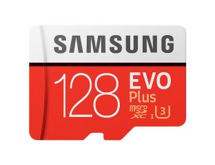 Samsung MicroSD card EVO+ series with Adapter, 128GB , Class10, UHS-1 Grade3 , Speed Read 100MB/s,Speed Write 90MB/s