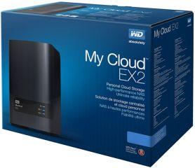 HDD 8TB LAN 1000Mbps NAS MyCloud EX2 ULTRA 2-bay (2 x 4TB WD Red) Gigabit + 2 x USB 3.0