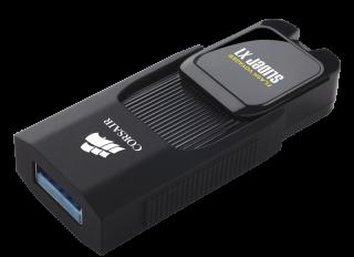 Флаш памет Corsair Voyager Slider X1 USB 3.0 32GB, Capless Design, Read 130MBs, Plug and Play