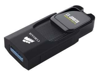 Флаш памет Corsair Voyager Slider X1 USB 3.0 64GB, Capless Design, Read 130MBs, Plug and Play